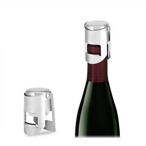 MIUK rostfritt stål vakuum champagne / rött vin tätare flaska stoppare fast tätning hålls färsk
