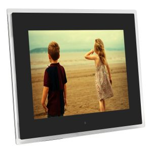 15 Inch 1080p HD LCD Remote Control Digital Photo Frame MP3 Audio Video Display With Phone Holder USB Plug