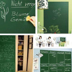 Useful Chalk Board Blackboard Removable Vinyl Wall Sticker Decal Chalkboard Wall Sticker for Kids DIY
