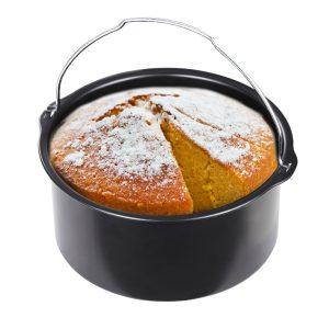 Cake Pan Bread Baking Basket For Hot Air Fryer 1.6L Hot Air Fryer Hot Air Oven Accessories