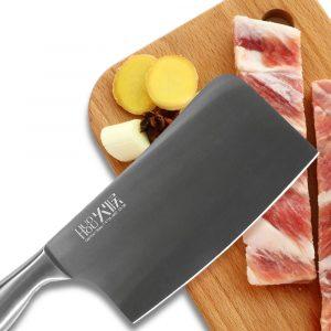 HUOHOU A1609 6.7 Inch Kitchen Stainless Steel Cutter No Grinding Sharp Chopper Bone Chopper Vegetable Cutter