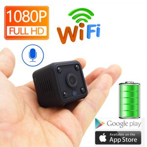 JIENUO JN-B001 1080P Mini WiFi Camera Home IP Camera Battery CCTV Wireless Security HD Surveillance Micro Night Vision Home Monitor