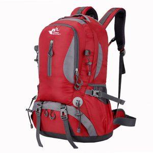 40L Big Capacity Travel Backpack Waterproof Nylon Outdoor Bag For Women Men
