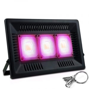 150W LED Grow Light Garden Plant Veg Hydroponicn Waterproof COB Full Spectrum LED Grow Lamp