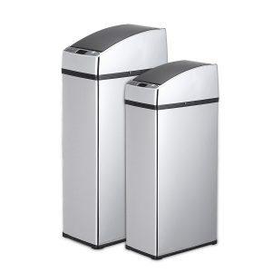 3L/4L Sensor Automatic Trash Can Dustbin Touchless Stainless Steel Waste Bins for Kitchen Office