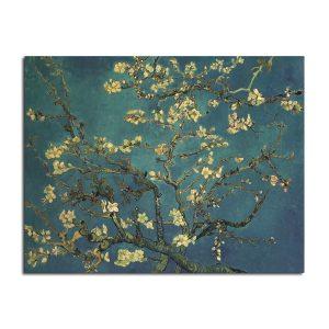 Van Gogh Apricot Poster Kraft Paper Wall Poster DIY Wall Art 18.5 inch X 14 inch