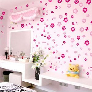 Removable Flowers Sticker Art DIY Your Home Wall Decor Art