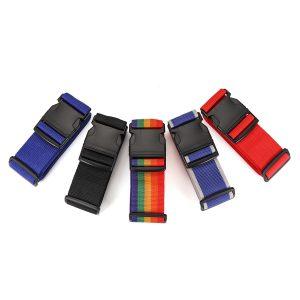 Honana Travel Heavy Duty Bagageband Resväska Bälten Reseväskor Tillbehör för säkerhetsbälte