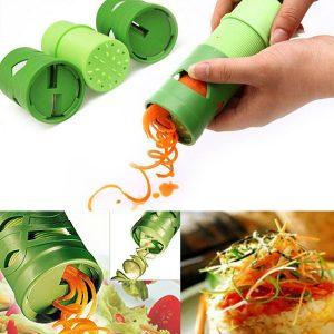 Honana Multifunktion Vegetabilisk fruktgurka Vändning av skärskiva Fruktgrönsaksenhet