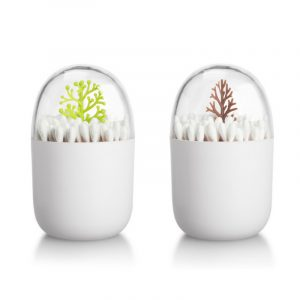 Animal Plant Multifunctional Dustproof Storage Box Cartoon Cotton Swab Box