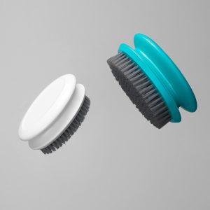 Hem Portabelt ergonomiskt handtag Lätt tvättverktyg Snabbskumning Slitstark kläder Rengöringsborste