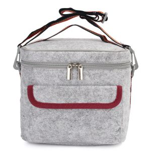 Insulated Thermal Cooler Lunch Storage Box Bag Tote Shoulder Strap Carry Picnic