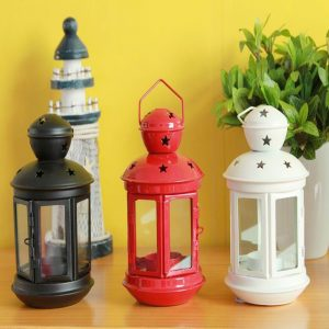 Europeiska Ljusstake Plast Ljusstake Färgglada Inredningsartiklar Mode Klassisk Mousse Vintage Vägglampa Lykta Glas Ljus Lykta Matdekorationer Mode Hem Järn Glas Lykta Mousse