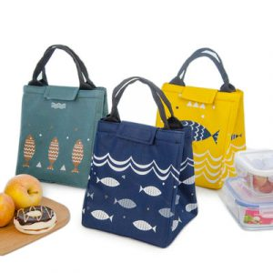 Fashion Oxford Portable Picnic Storage Thermal Lunch Bags Insulated Cooler Box