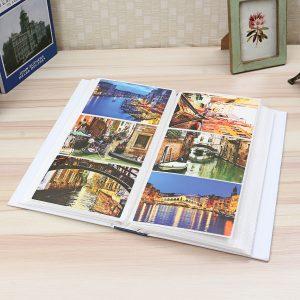 "4R 6"" 300 Photos Photo Album Storage Case Family Wedding Baby Picture Film Book"