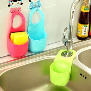 Honana HN-L1 Kök Badrum Hängkorgen Väggficka Förvaringsväska Filter Vatten Creative Rack Hanger