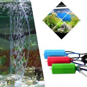 Bärbar Mini USB Aquarium Fish Tank Oxygen Air Pump Mute Energy Saving Supplies USB Oxygen Pump