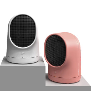 500W Portable Mini Space Electric Ceramic Heater Personal Heater Fan for Home and Office Indoor Use