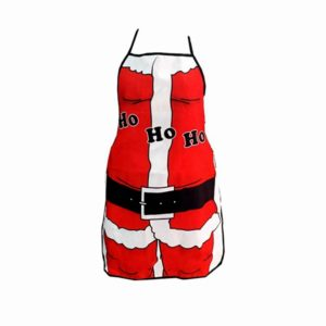 New Christmas Santa Claus Apron Christmas Decorations for Home Red Cloth Adult Pinafore Decoration