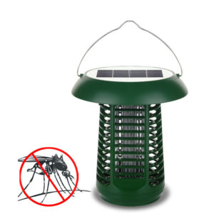 Igreen AG001 2 In 1 Garden Mosquito Killer Lamp Solar Panel Power Outdoor waterproof Photocatalyst LED Light