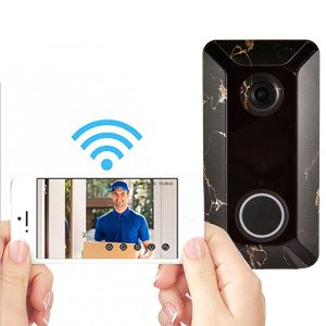 Bakeey V6 Remote Intelligent Wireless WiFi Waterproof Cloud Storage LED Indicator Home Monitoring Video Voice Doorbell