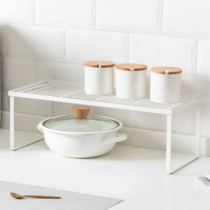 Jordan&Judy Layered Shelf Tiered Shelf Rack for Kitchen Bathroom Office from XIAOMI YOUPIN