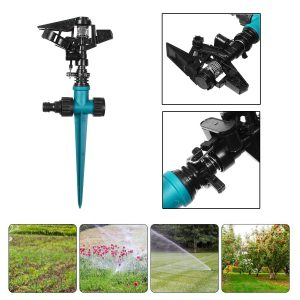 1/2 Water Farm Sprinklers Rocker Nozzle Lawns Garden Watering Irrigation System