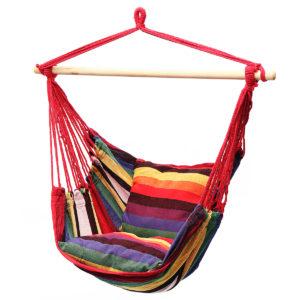 Hängande hängmatta stol Swing bed utomhus inomhus camping trädgård hem
