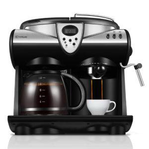 Donlim DL-KF7001 Espresso Kaffemaskin Konsument och kommersiell automatisk ångmjölk Kaffebryggare