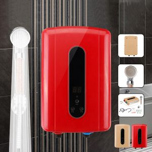 5500W 220V Electric Tankless Hot Water Instant Heater Bathroom Kitchen Heating Shower