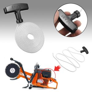 1.6m Universal Lawnmower Starter Pull Handle Cord Line Rope Mower Engine Petrol