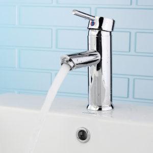 Brass Waterfall Basin Faucet Single Lever Mixer Bath Tap
