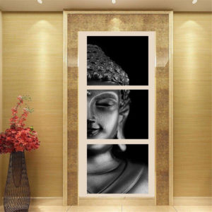 3st Set Set Print Art Paintings Wall Picture Home Decor Unframed Black