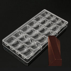 3D Clear Chocolate Mold Candy Jelly Mould Tray Pastry Polycarbonate Baking Tools