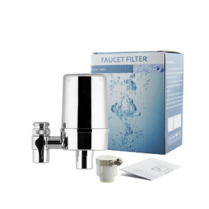 4 Layers Filtration Faucet Water Filter For Kitchen Bathroom Mount Tap Purifier
