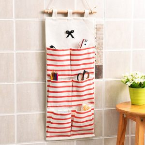 2018 New Wall Hanging Organizer Sundries Home Kitchen Wall Multifunctional Hanging Storage Bag