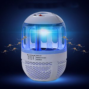 Electric 6 LED USB Mosquito Insect Killer Lamp Fly Bug Zapper Trap Catcher UV Light