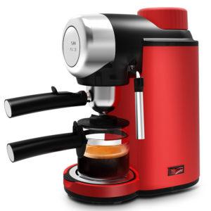 FXUNSHI MD-2005 0.24L 800W halvautomatisk espressomjölkbubblagerare