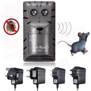 Elektronisk ultraljud plåga råttmus Mus Insekt gnagare kontroll repeller Anti Mole Killer Trap Bug Chaser