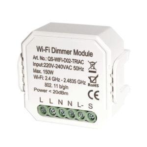 Bakeey DIY Smart WiFi Light LED Dimmer Switch Smart Life / Tuya APP Fjärrkontroll 1/2/3 Vägsbrytare fungerar med Alexa Echo Google Home