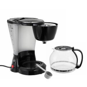 1.2L Elektrisk droppkaffe Te Espresso Maker Automatisk filtermaskin 10-12 koppar Kaffemaskin