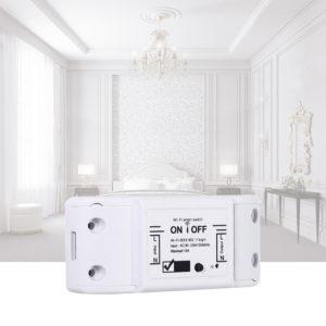 Bakeey 220V 10A WiFi Smart Switch Controller Universal Circuit Breaker DIY Automation Trådlös fjärrkontroll för smarta hem