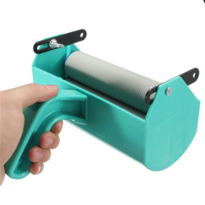 Decoration Machine 5 Inch Double Color Patterned Paint Roller For Wall Decorative