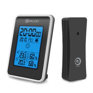 Digoo DG-TH1981 Weather Station Hygrometer Thermometer Outdoor Sensor