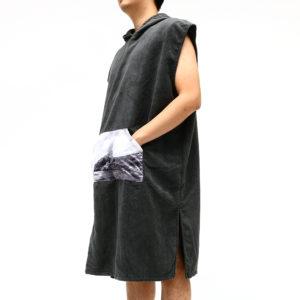 Honana Microfiber Cloak Costume Hooded Toweling Bathrobe Beach Towel Lazy Bathrobe Cloak