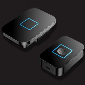 CACAZI A88 1 Receiver 1  Transmitter EU Plug 300M Remote Control Waterproof Intelligent Indicator Light Wireless Doorbell