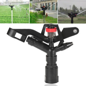 1'' Inch DN25 Water Irrigation Gun Sprinkler Nozzle Lawn Planting Spray Head