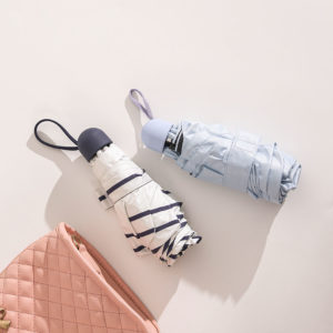 Five Folding Sun Umbrella Ultra Light Weight Windproof Sunscreen and Rainproof Ultra-short Storage From Xiaomi Youpin