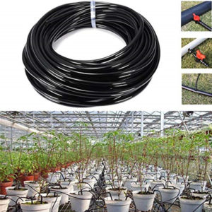 10/15M Watering Tubing PVC Hose Pipe 9/12mm Drip Irrigation Pipe Watering Sprinkler Home Garden Micro Drip