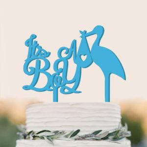 Akryl flamingo tårta bröllopstårta dekoration